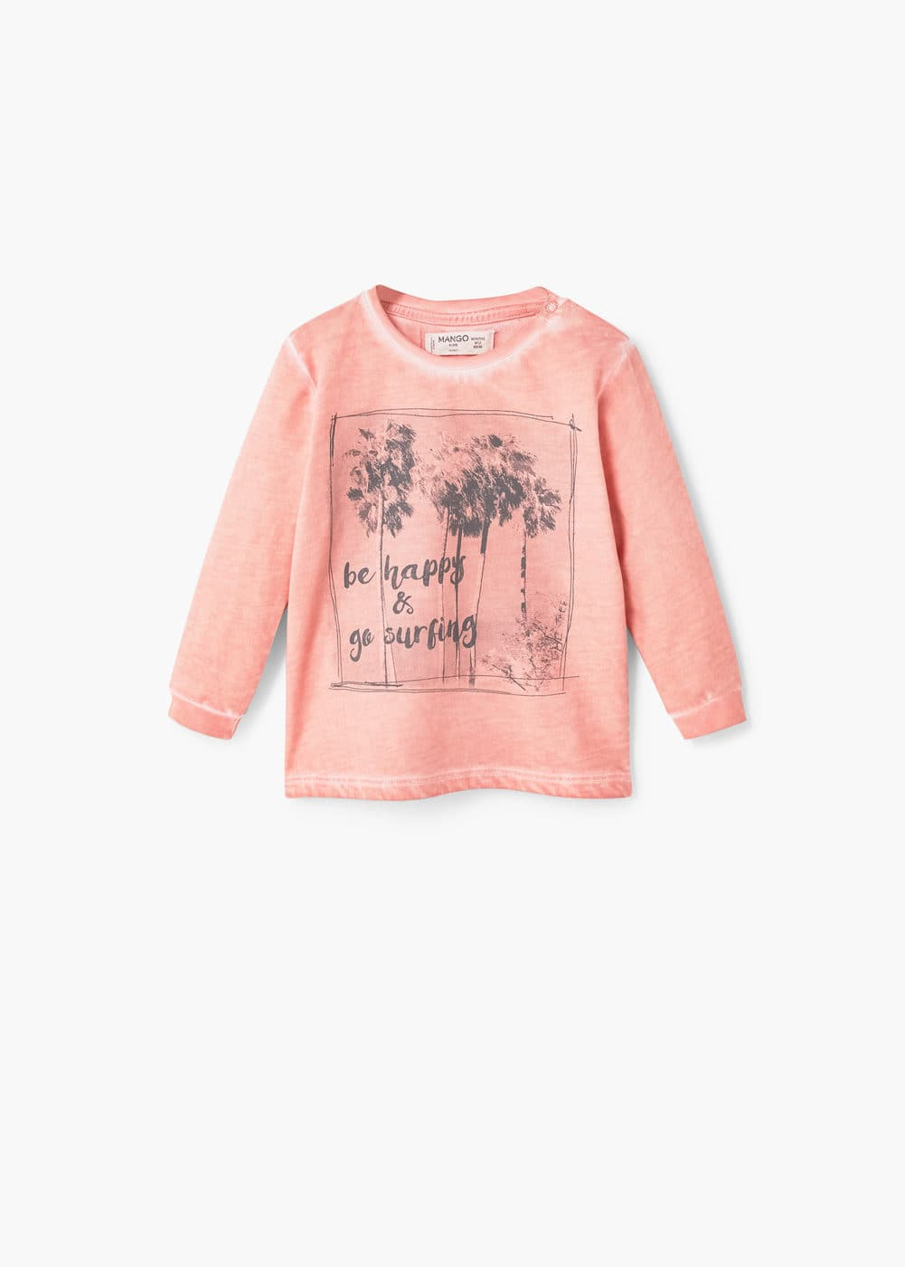 Sweatshirt im used-look | MANGO KIDS