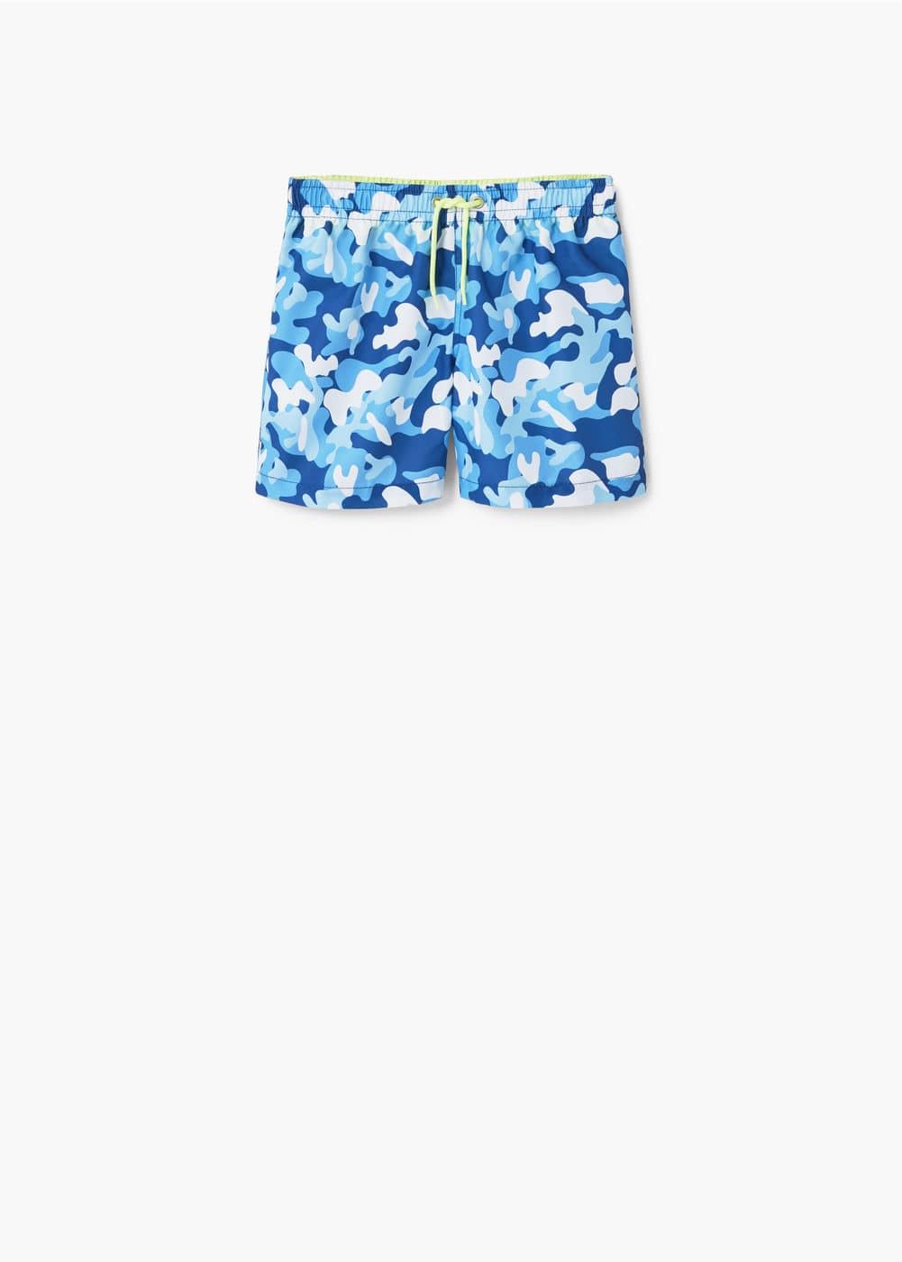 Camo-print swimsuit | MANGO KIDS