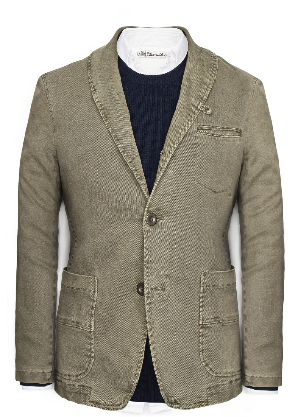 Unstructured cotton blazer | MANGO MAN