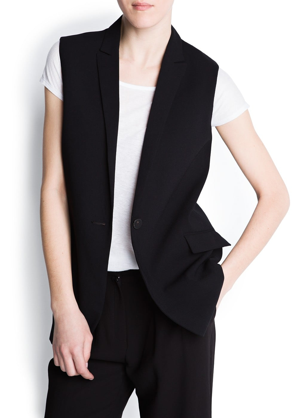 Tailored vest | MANGO