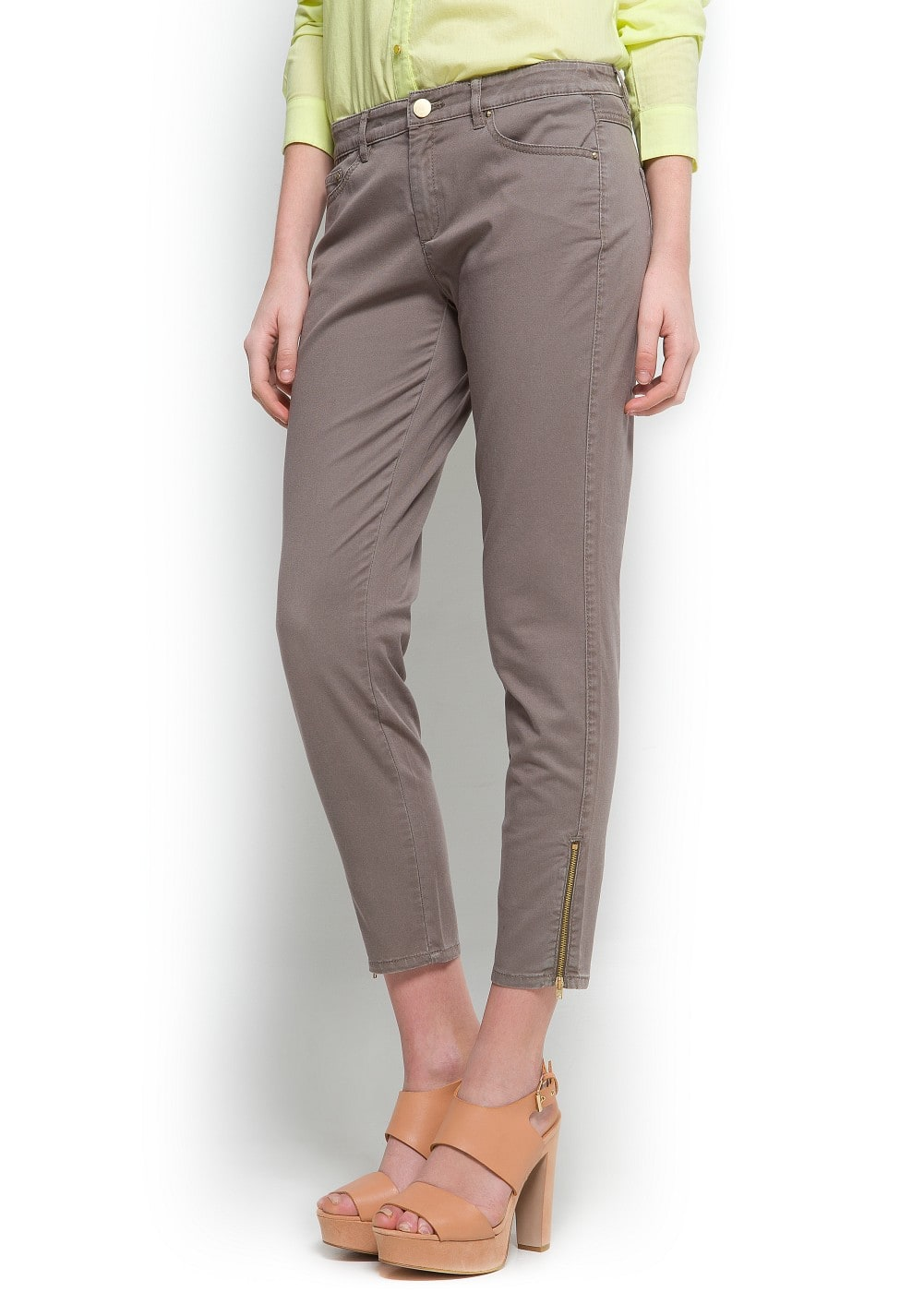 Slim-fit trousers | MANGO