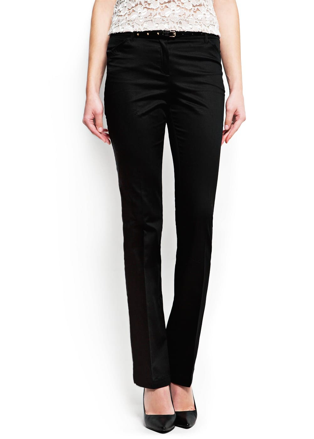 Straight-cut suit trousers | MANGO