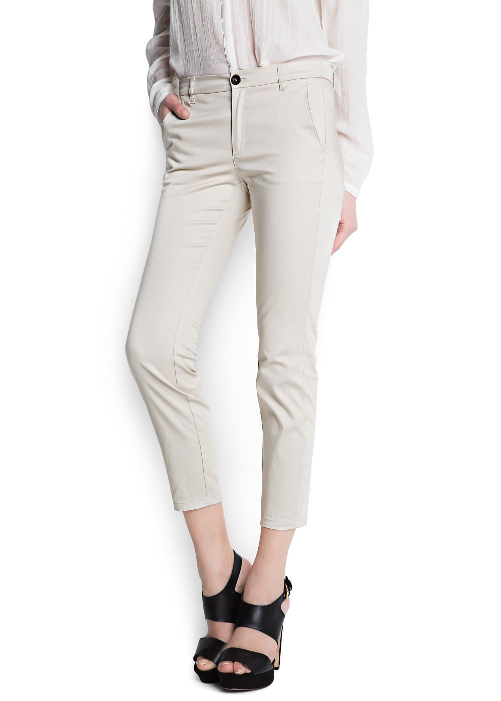 Suit slim trousers | MANGO