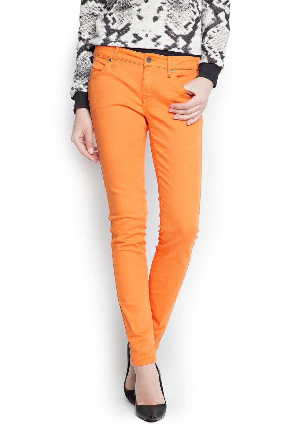 Super slim trousers | MANGO