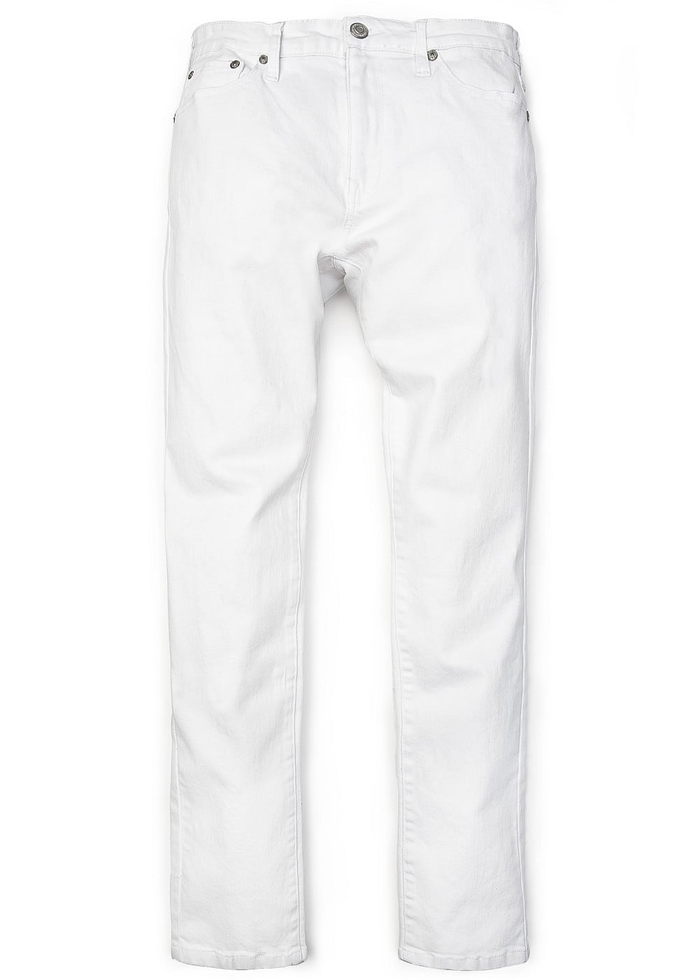 Alex slim-fit white jeans | MANGO MAN