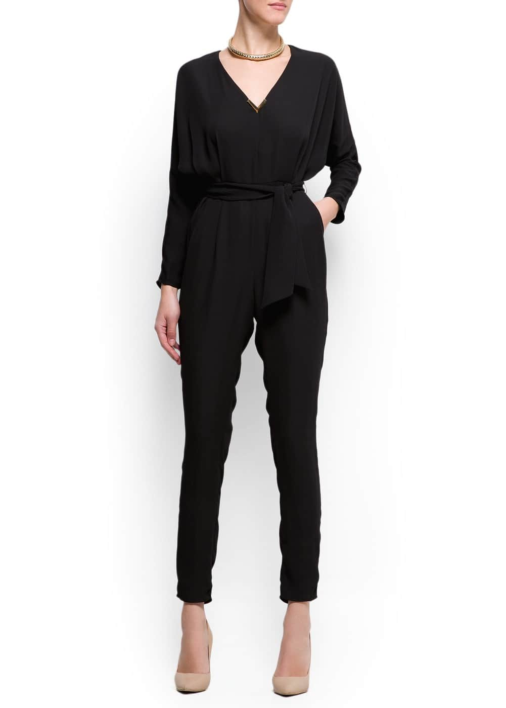 High waist jump suit | MANGO
