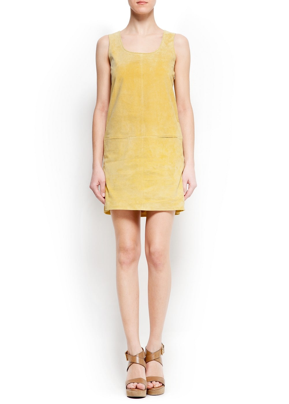 Suede dress | MANGO