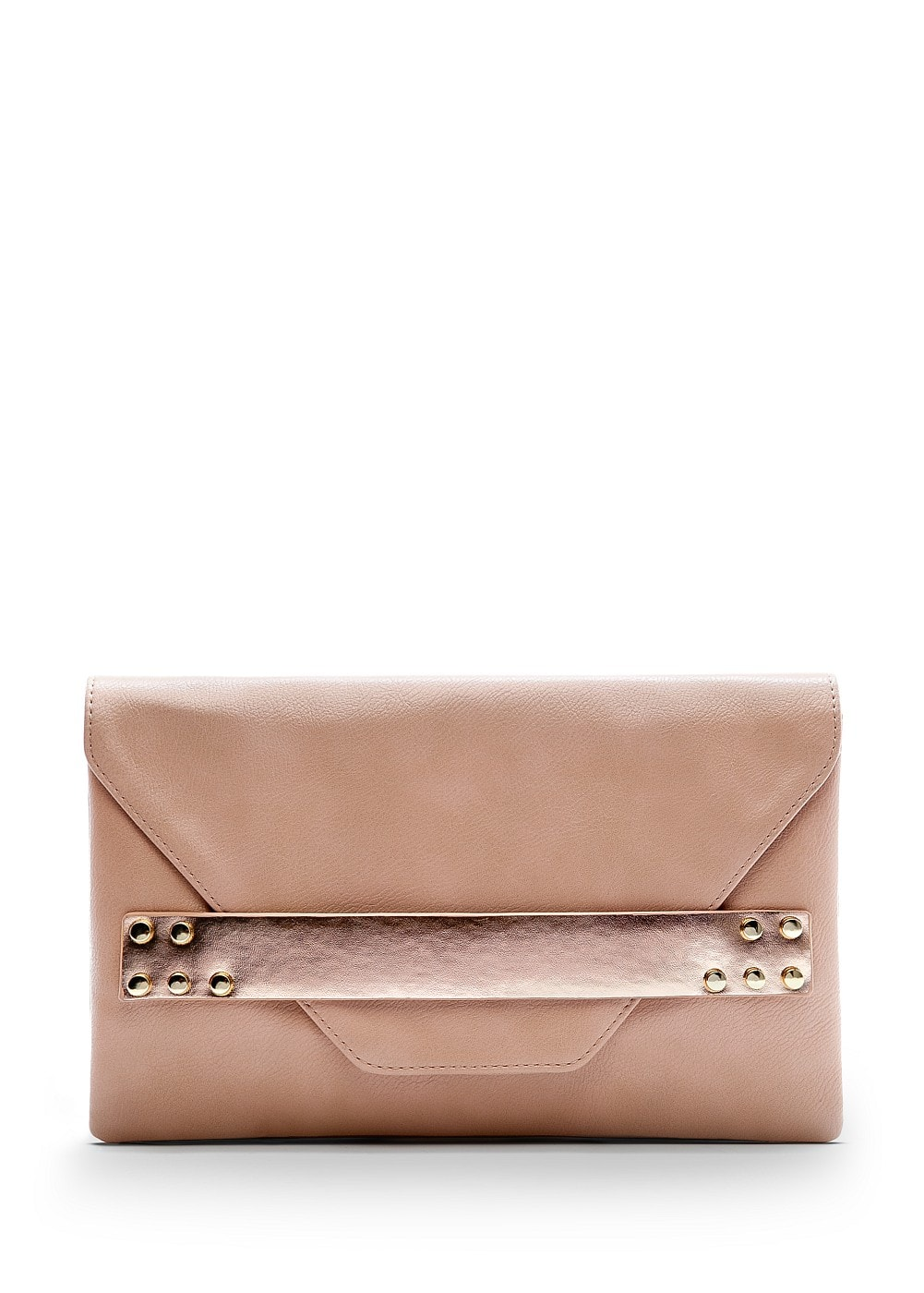 Metallic band clutch | MANGO