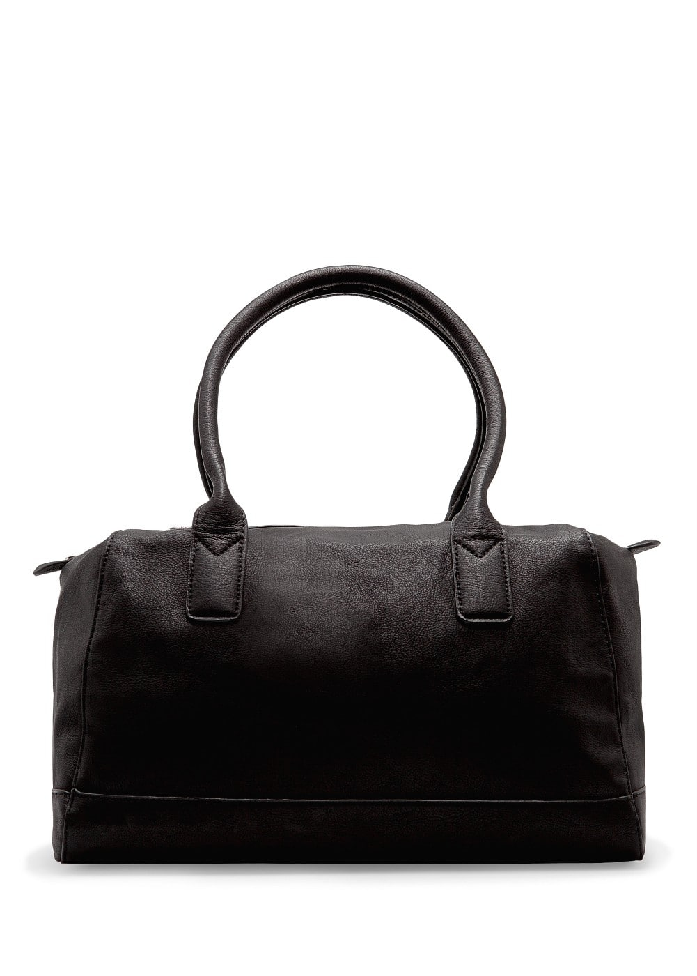 Faux leather bowling bag | MANGO