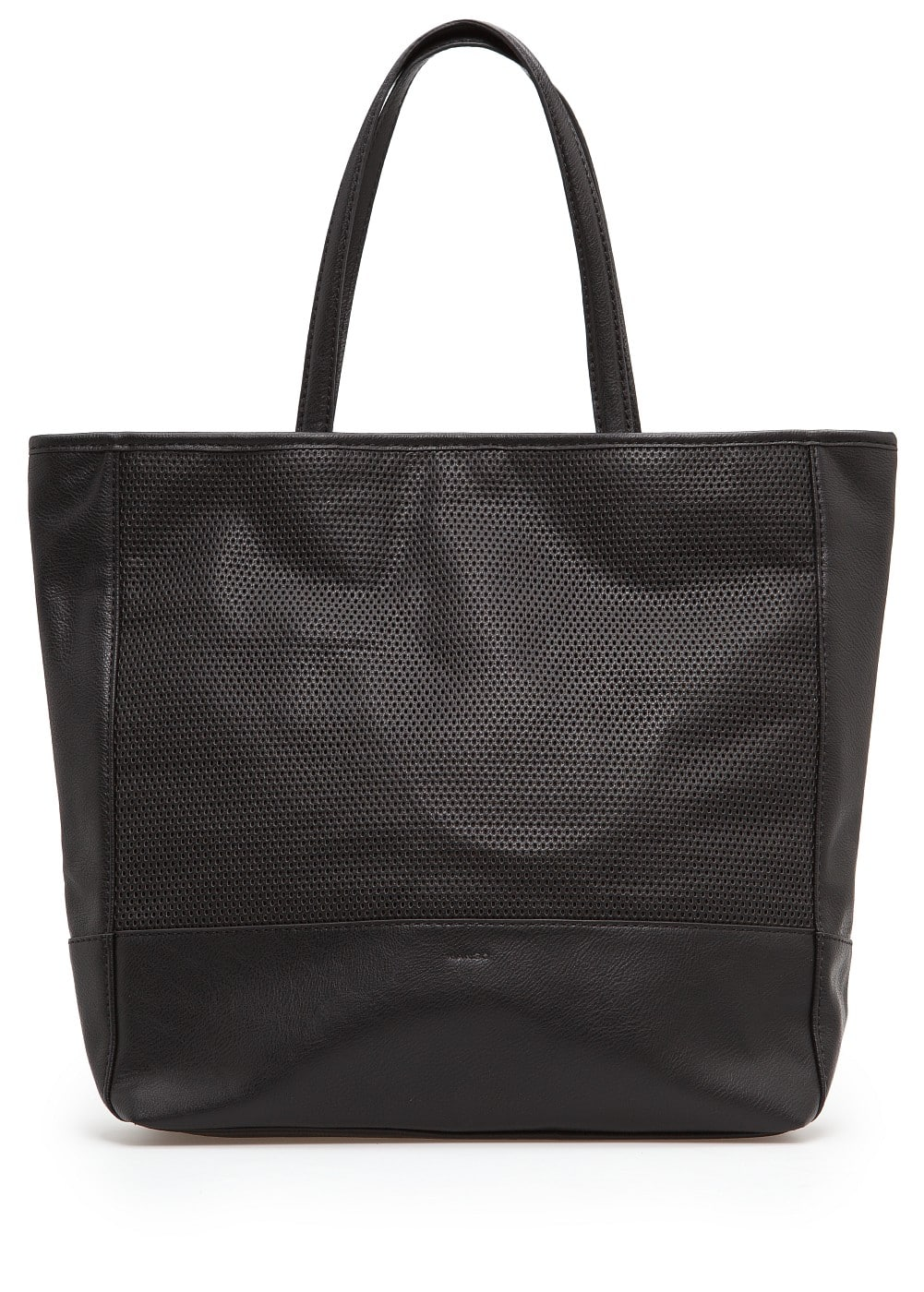 Perforated tote bag | MANGO