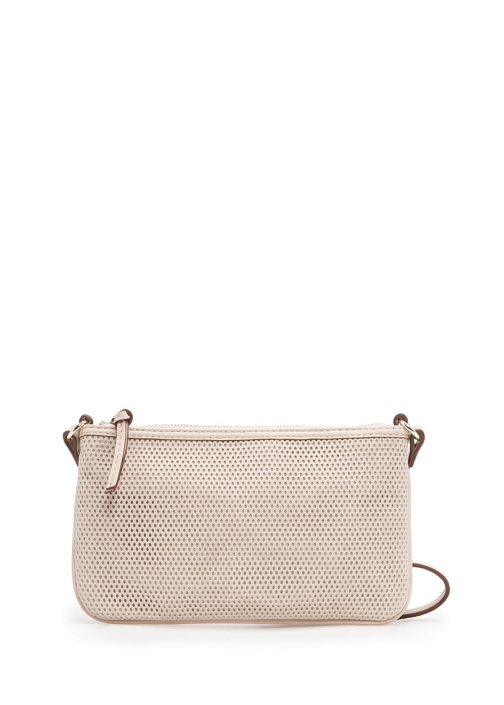 Small perforated shoulder bag | MANGO