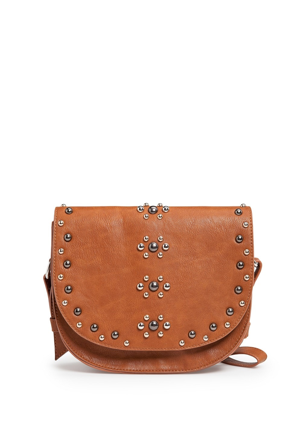 Studded messenger bag | MANGO