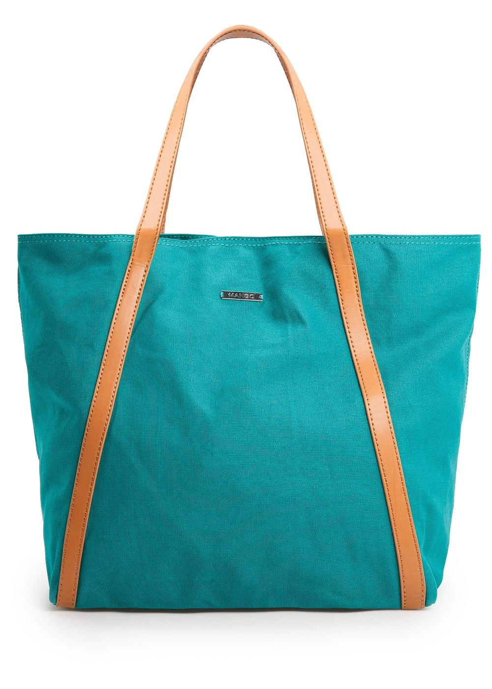 Cotton shopper bag | MANGO