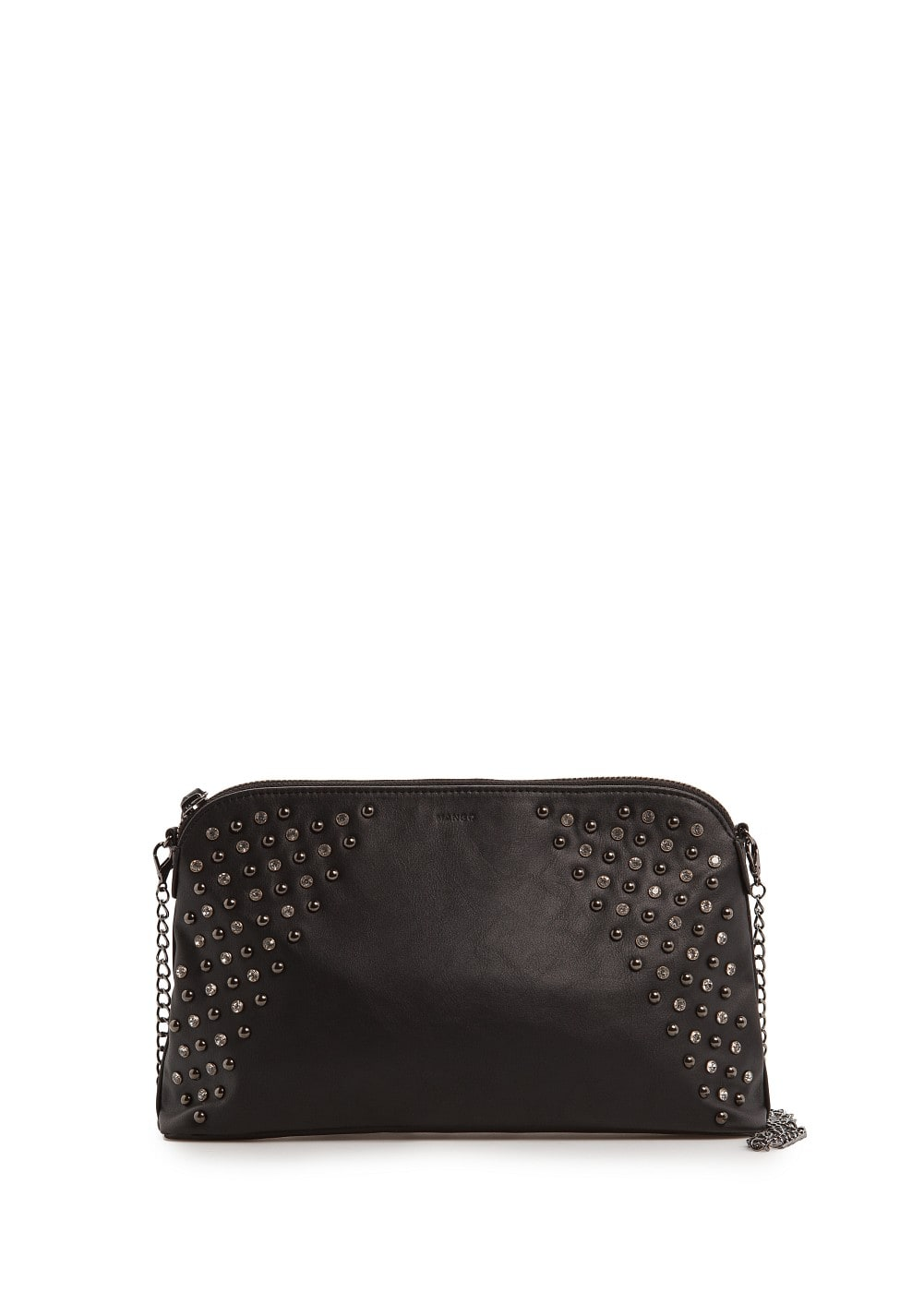 Crystals and studs clutch | MANGO