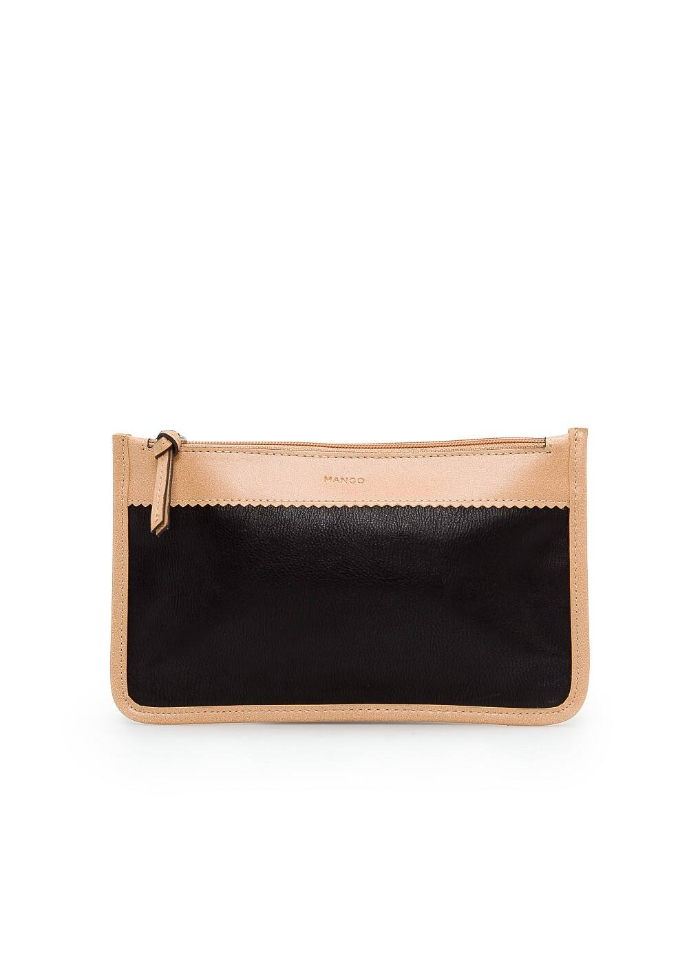 Faux leather cosmetic bag | MANGO