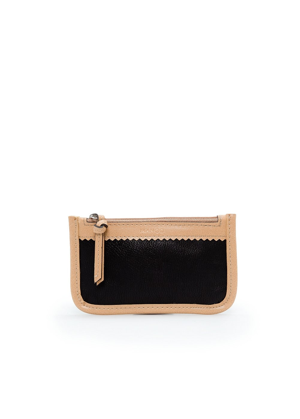 Faux leather coin purse | MANGO