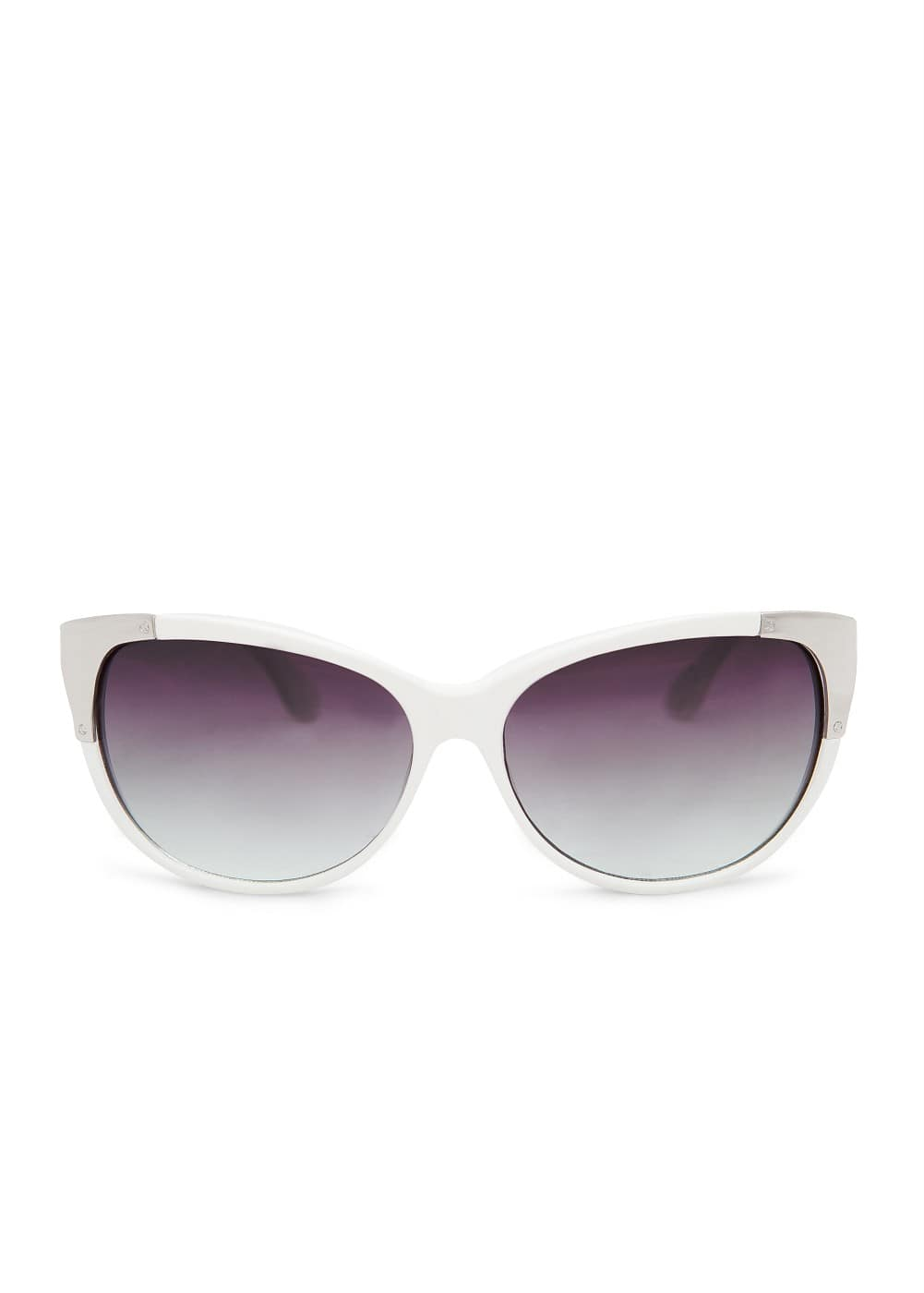 Metal hardware sunglasses | MANGO