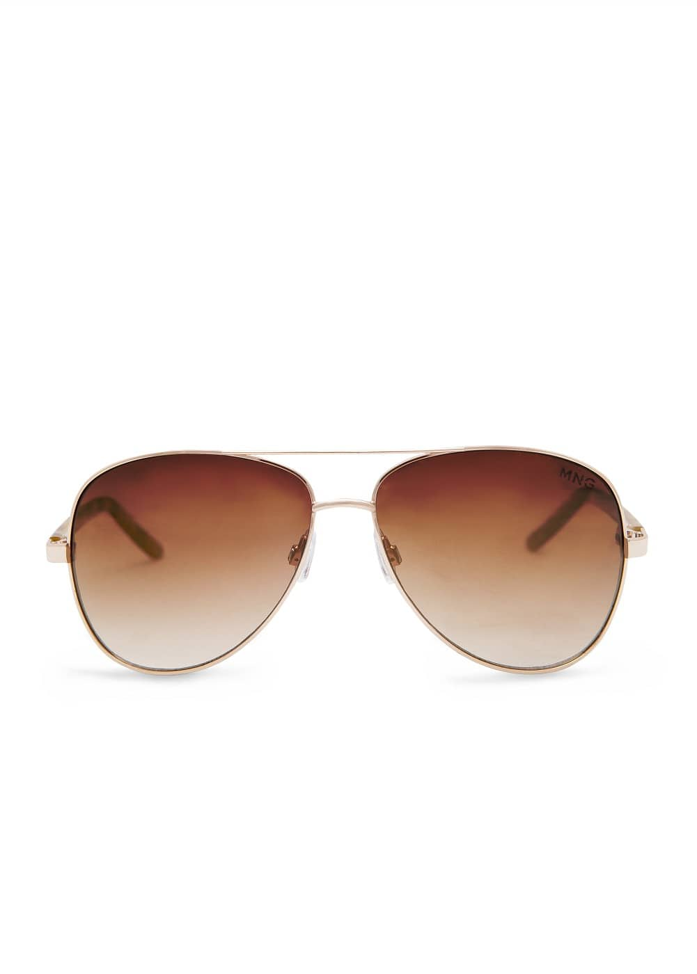 Contrast arm aviator sunglasses | MANGO