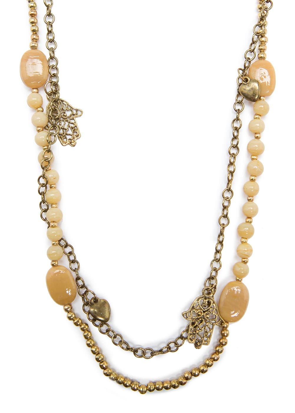 Charms long necklace | MANGO