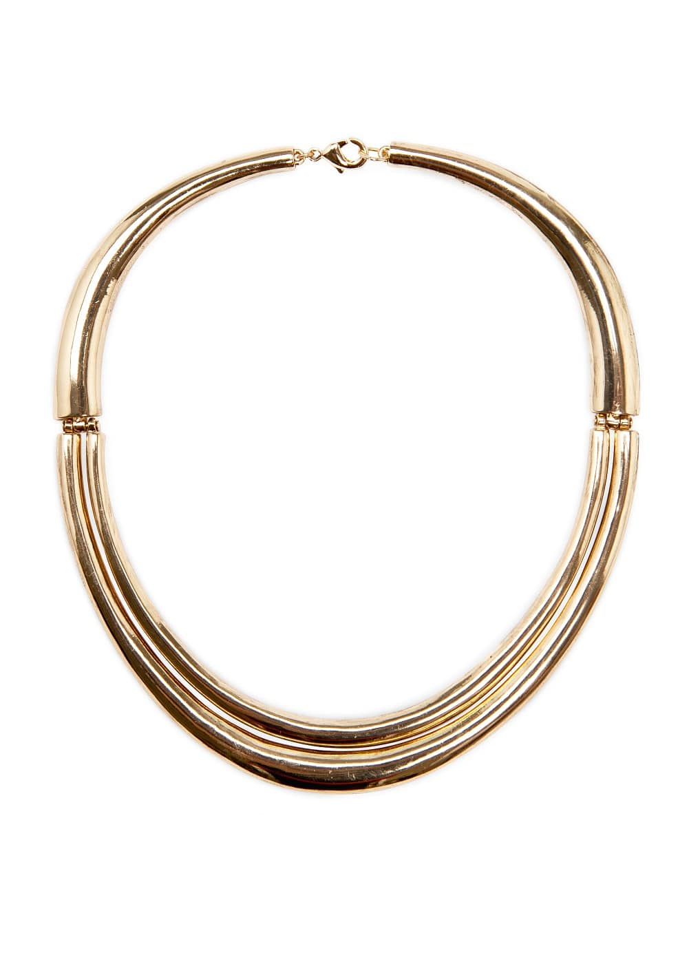 Hinged metallic choker | MANGO