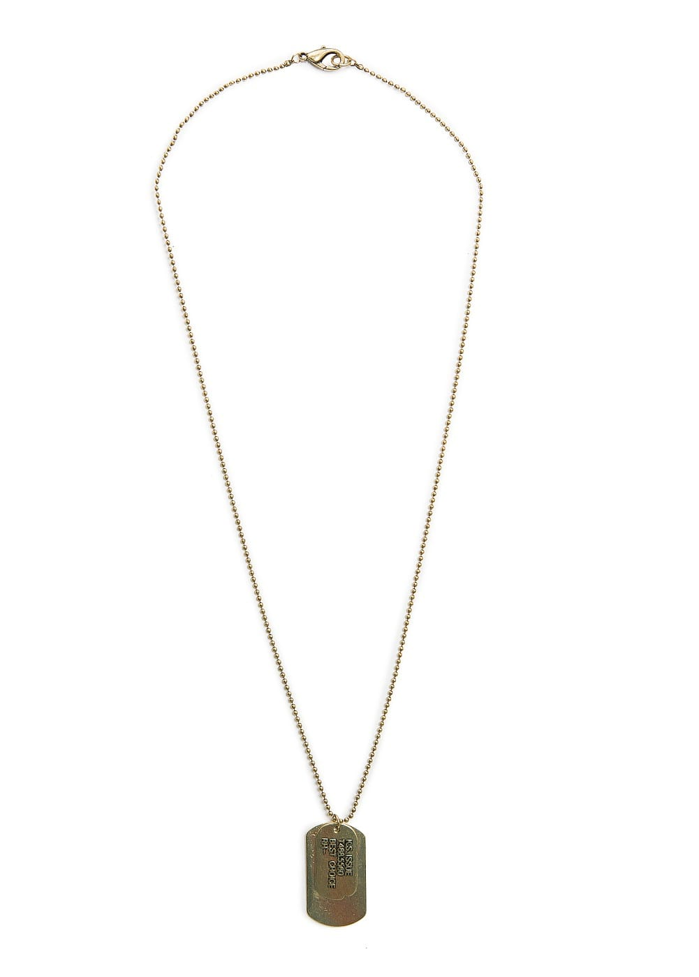 Id tag necklace | MANGO