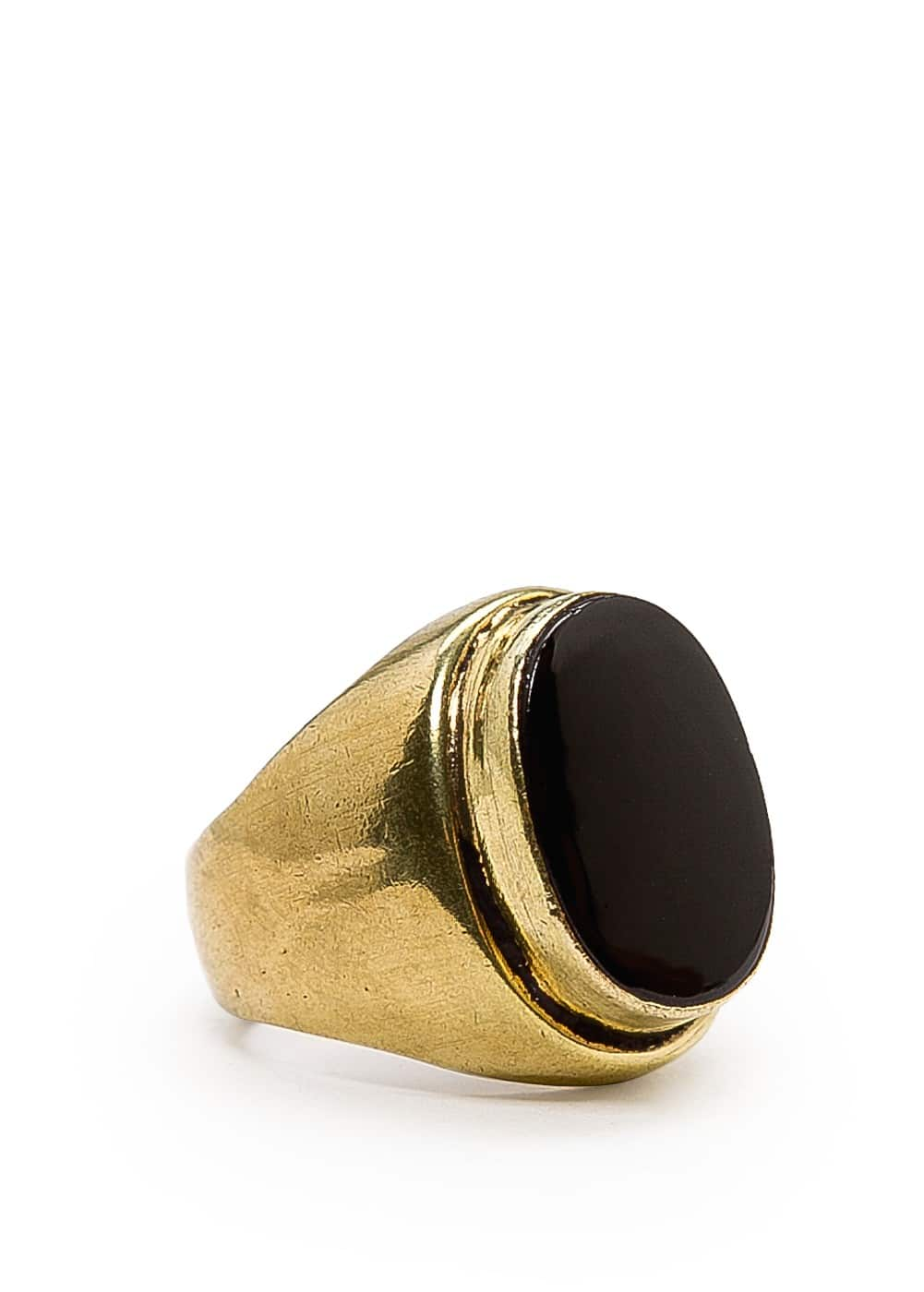 Oval stone ring | MANGO