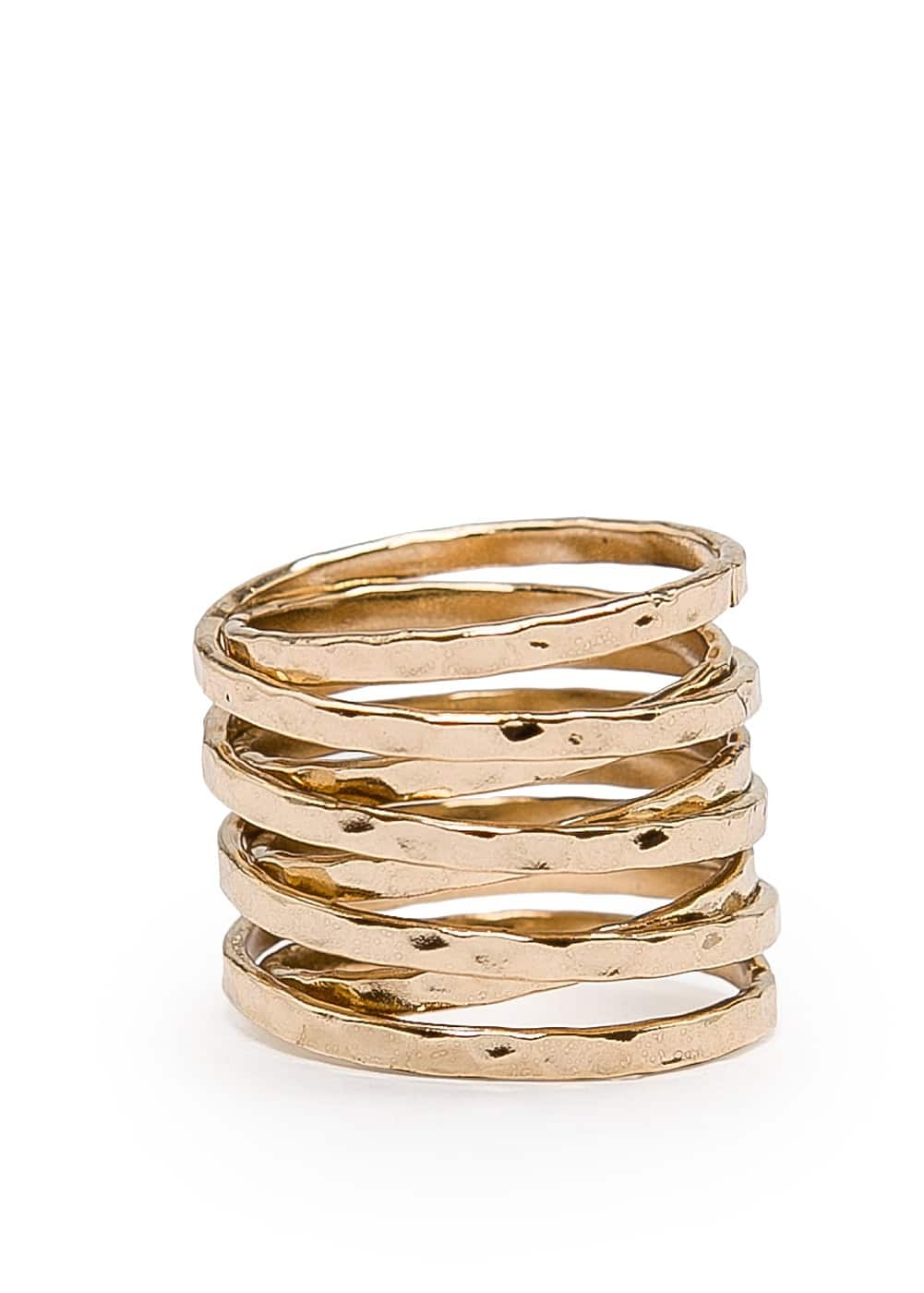 Twisted ring | MANGO
