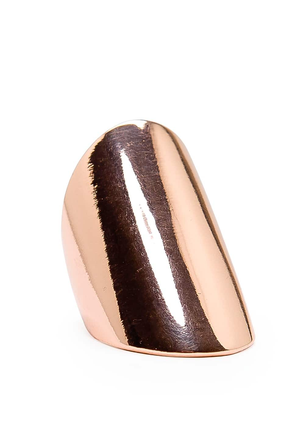 Rounded smooth ring | MANGO