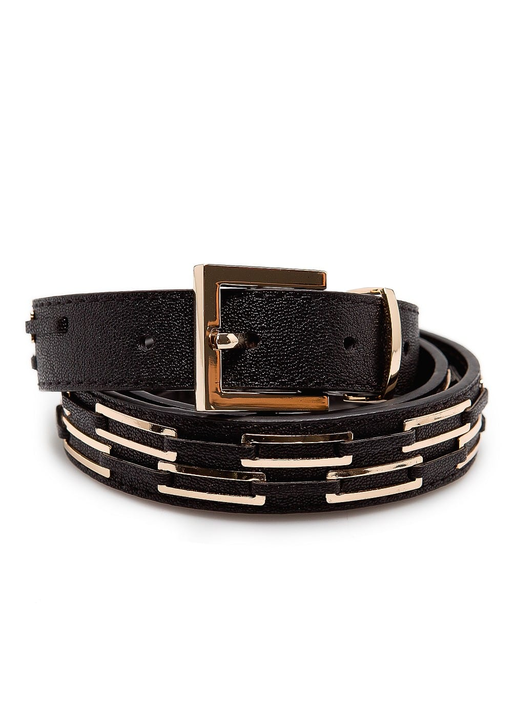 Metal hardware belt | MANGO