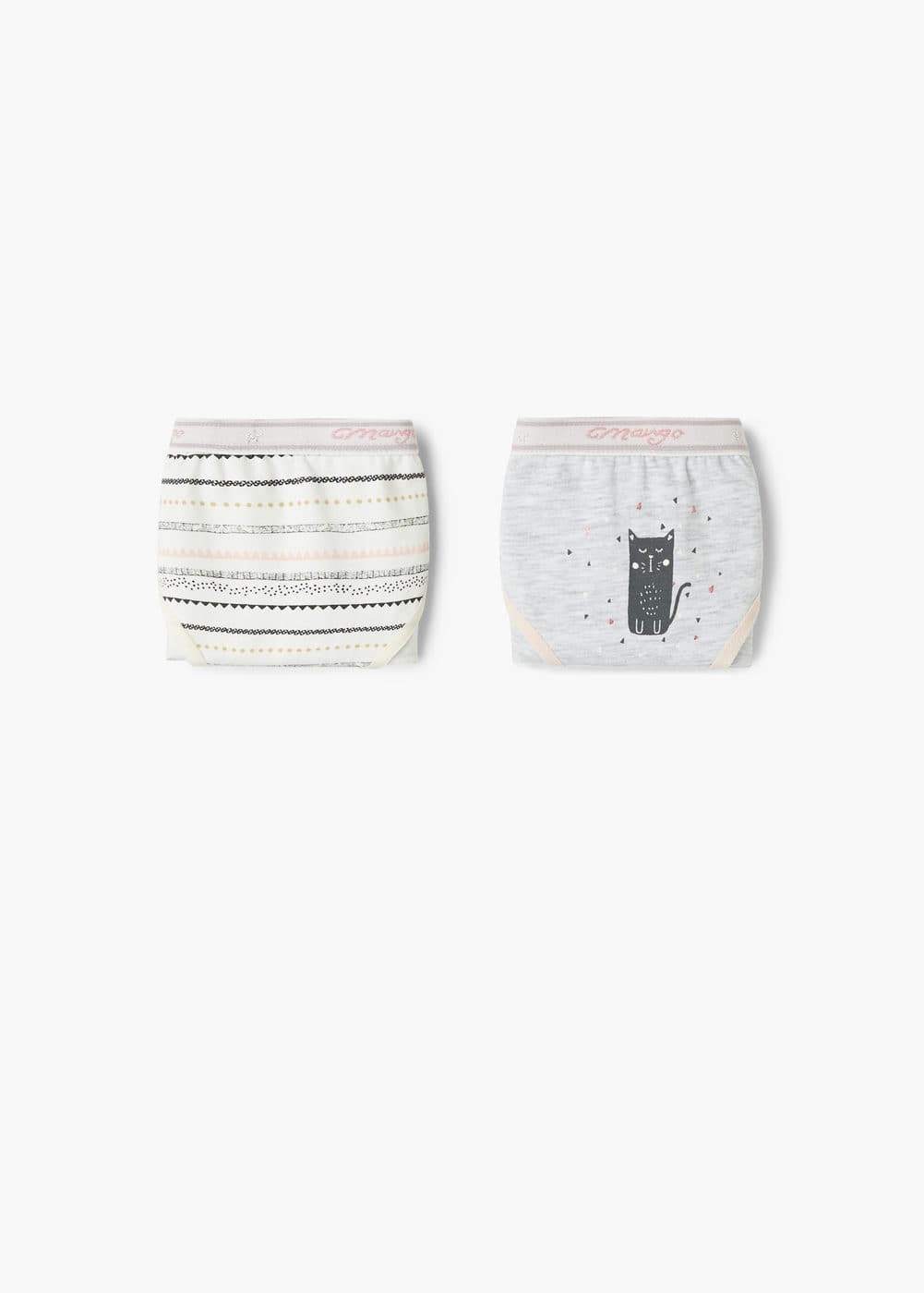 2 pack printed panties | MANGO