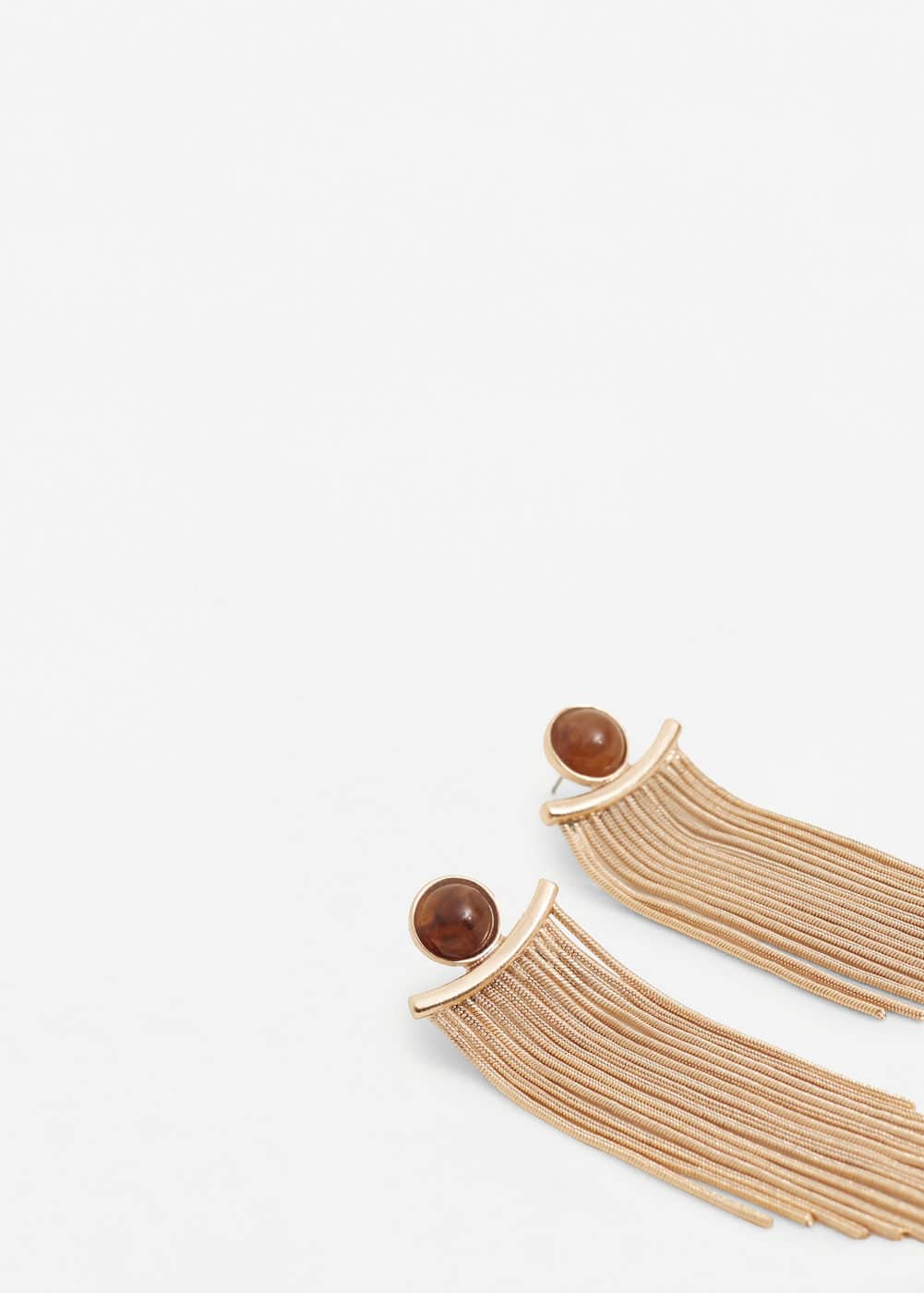 Multiple chain earrings | MANGO
