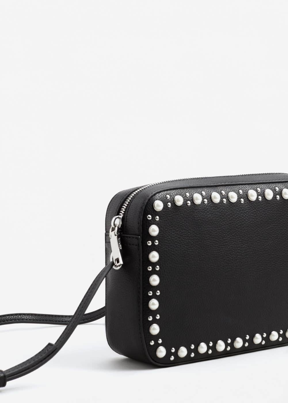 Pearls cross-body bag | MANGO