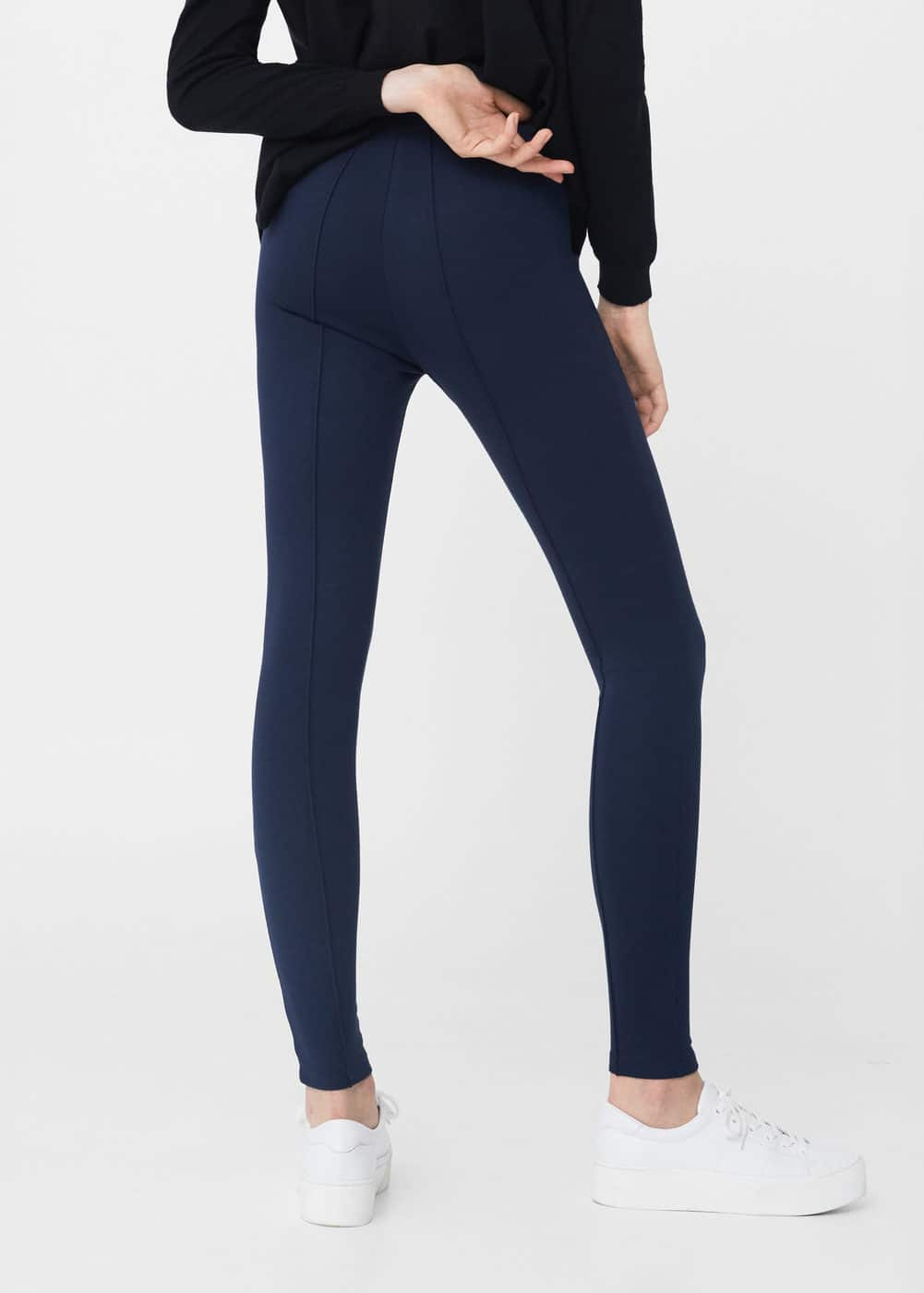 Leggings costuras decorativas | MNG