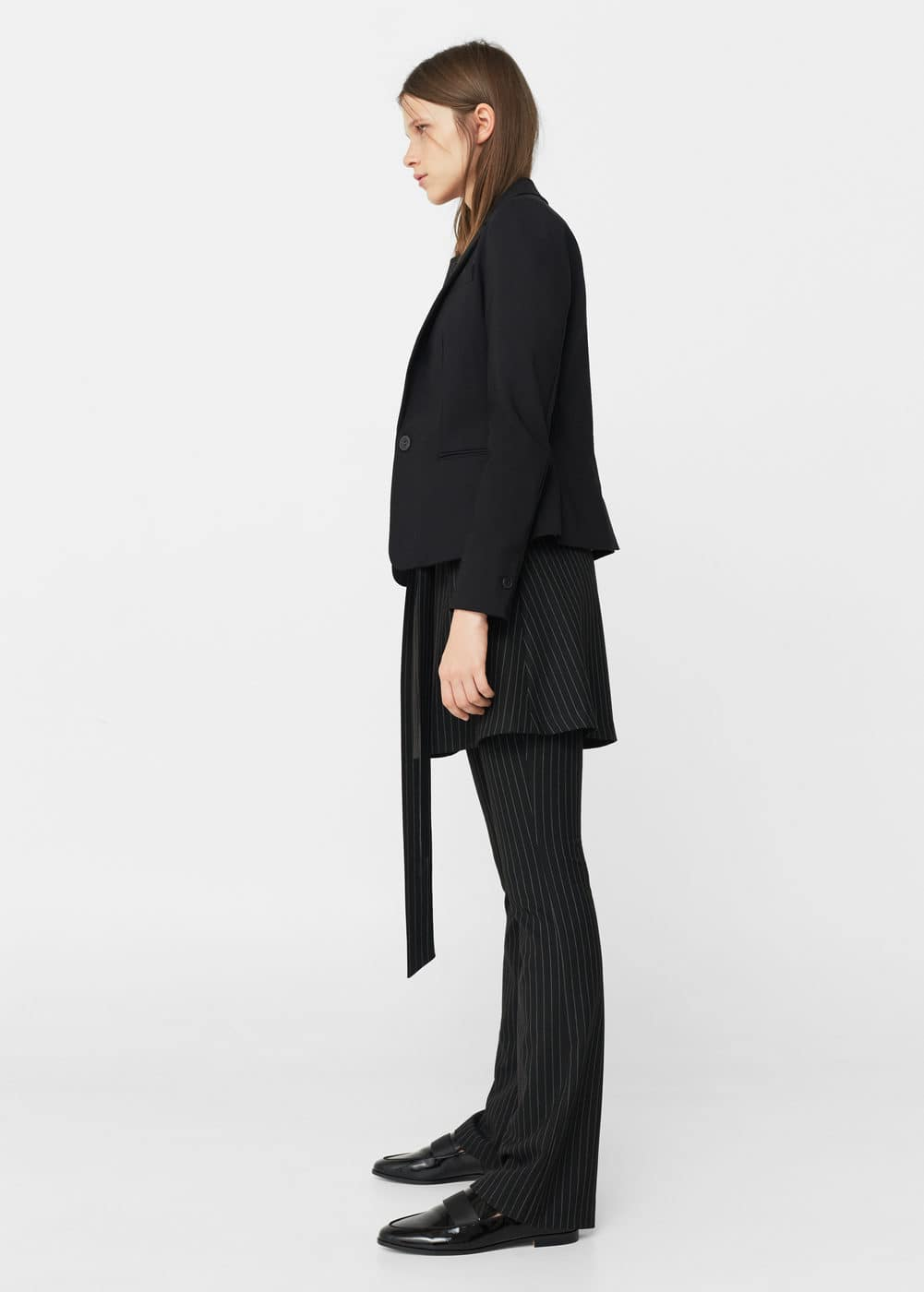 Structured cotton blazer | MNG