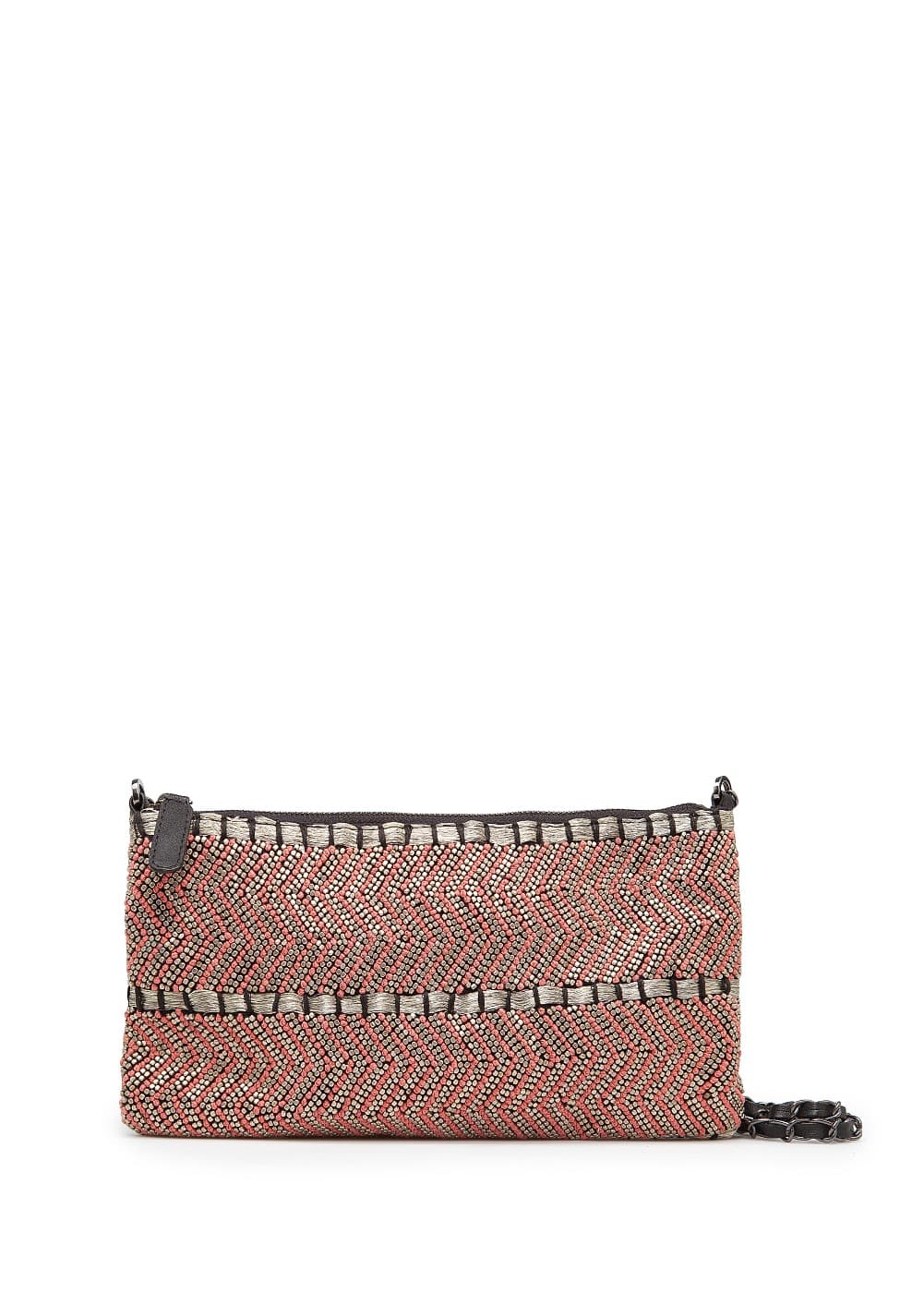 Ethnic style embroidered bag | MANGO