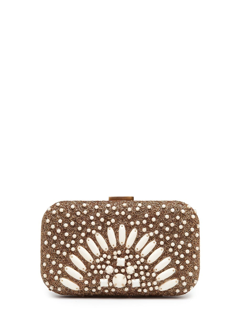 Jewell box clutch | MANGO