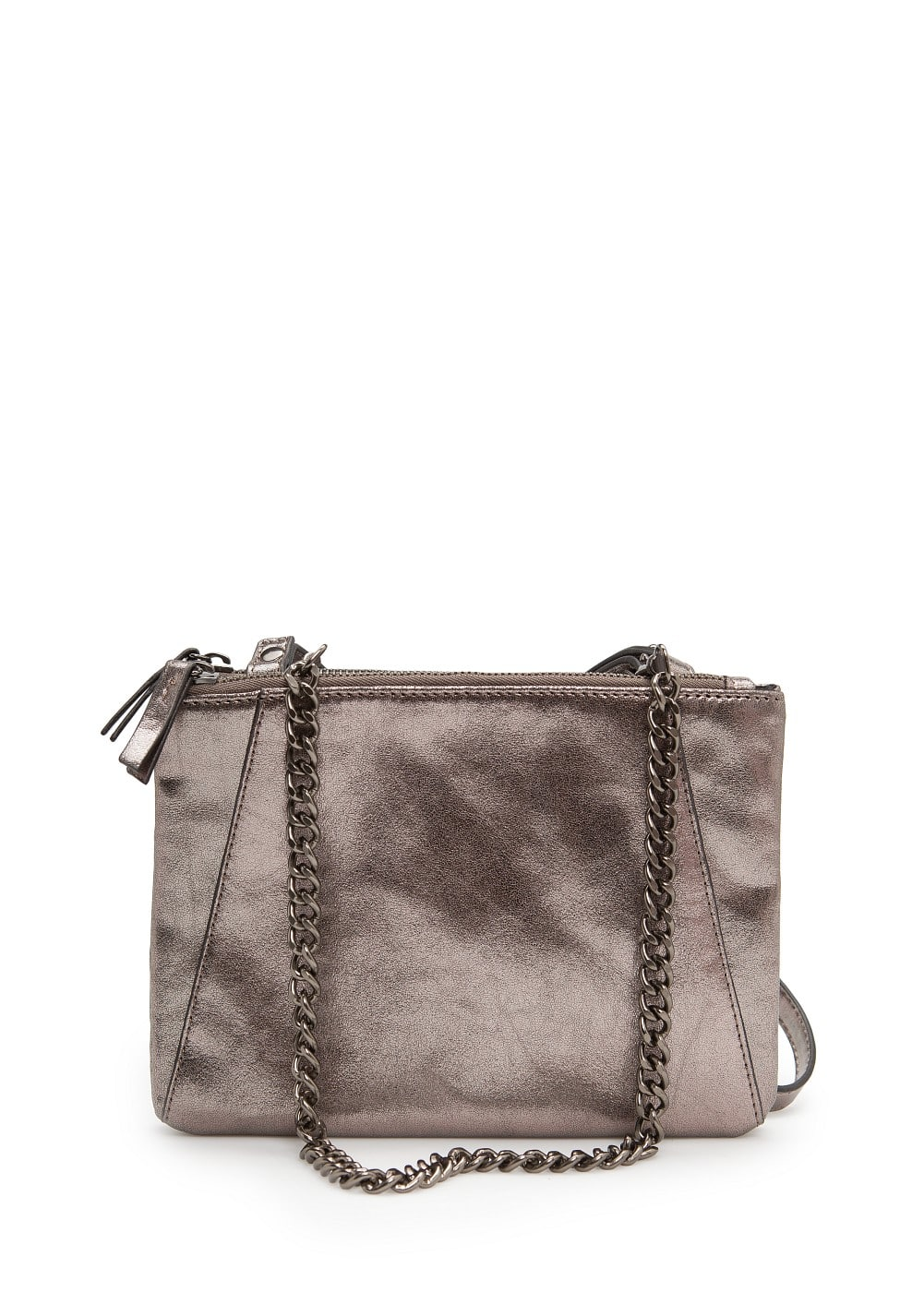 Double pouch shoulder bag | MANGO