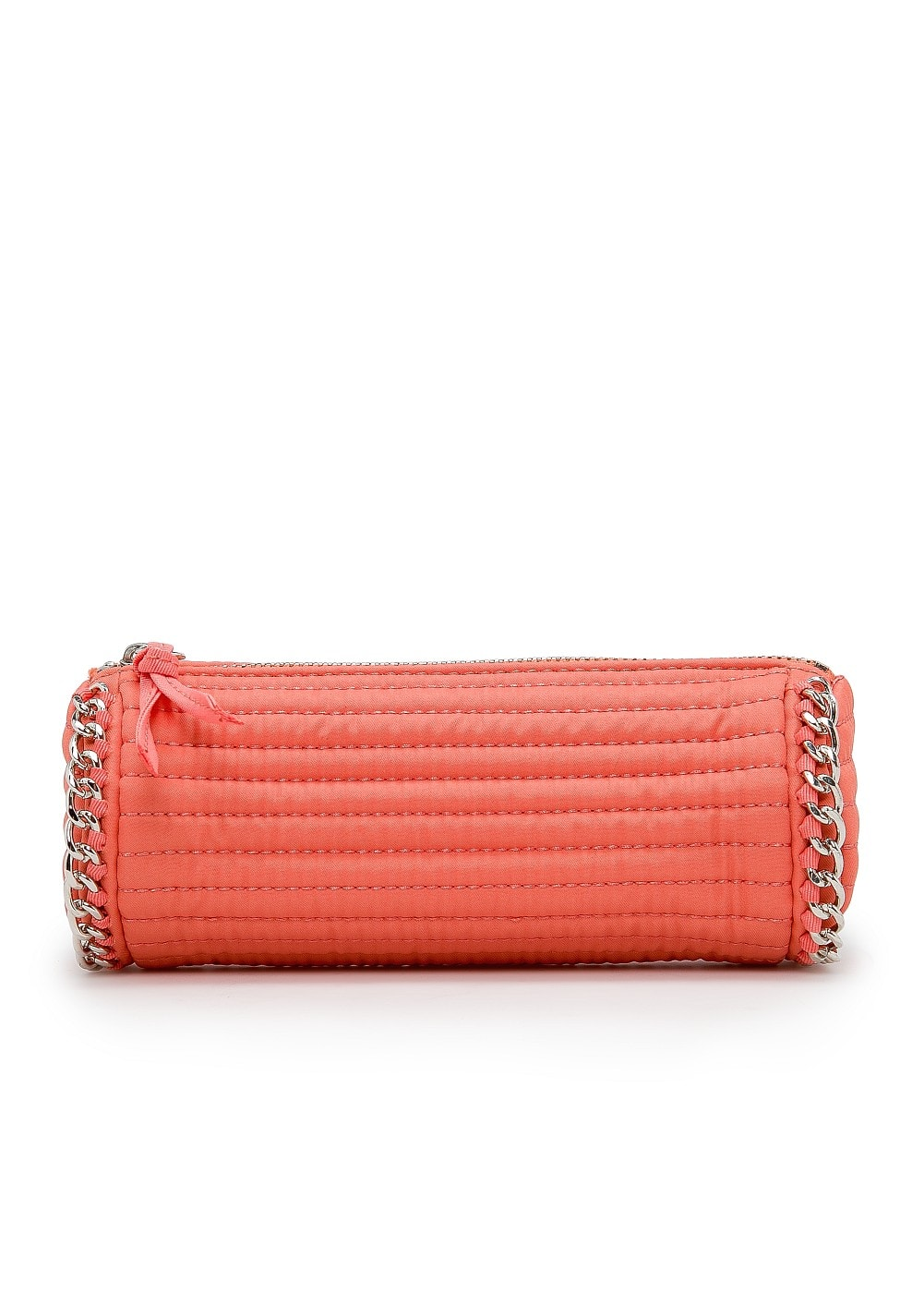 Chain trimmed cosmetic bag | MANGO