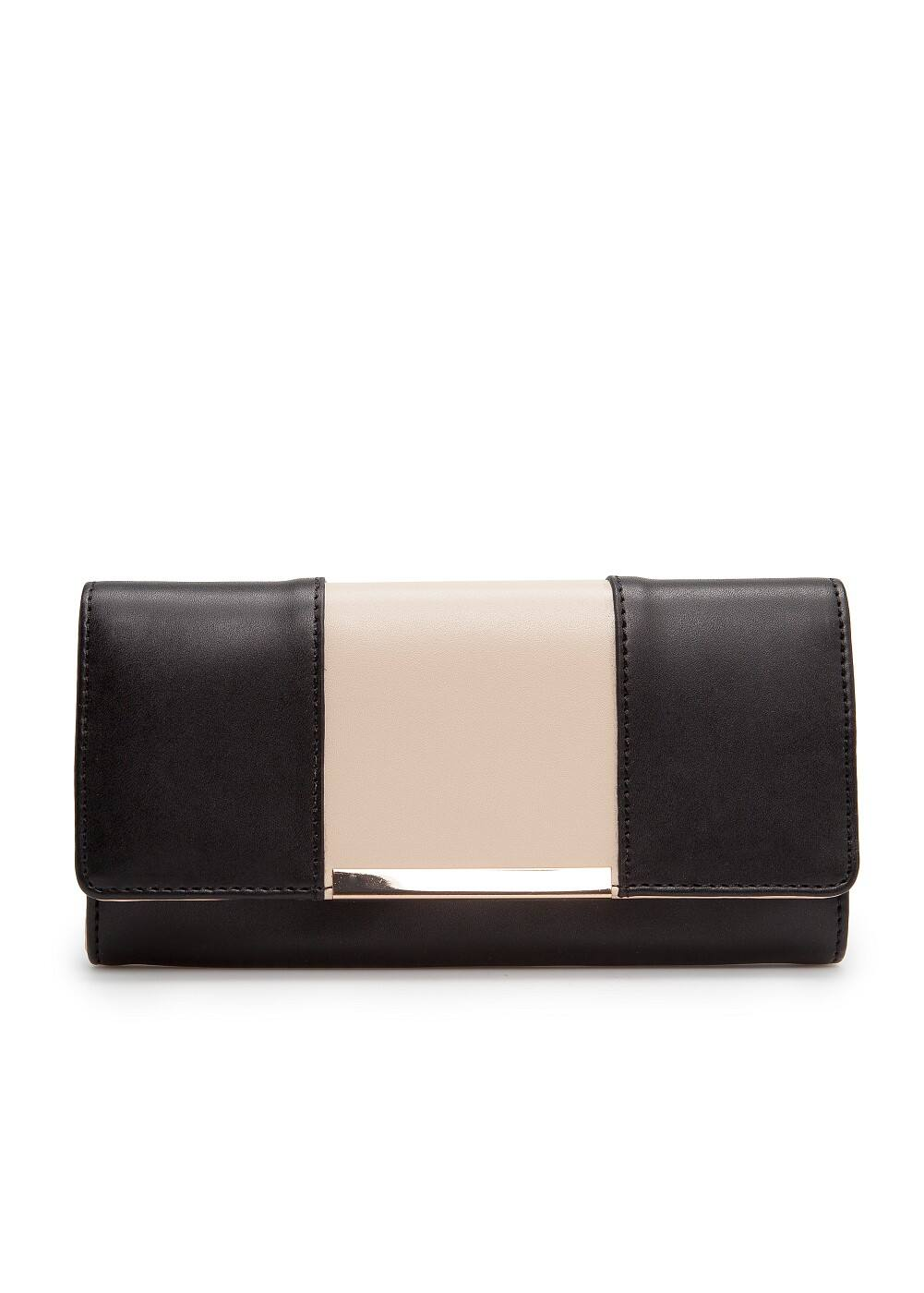 Two-tone wallet | MANGO