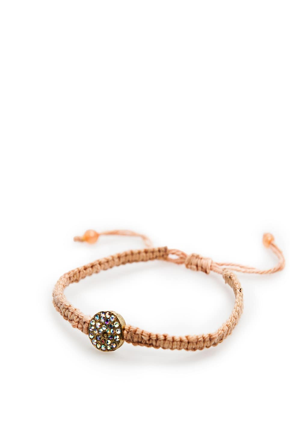 Strass decorative detail bracelet | MANGO