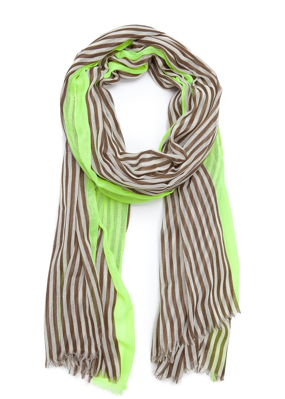 Striped foulard | MANGO