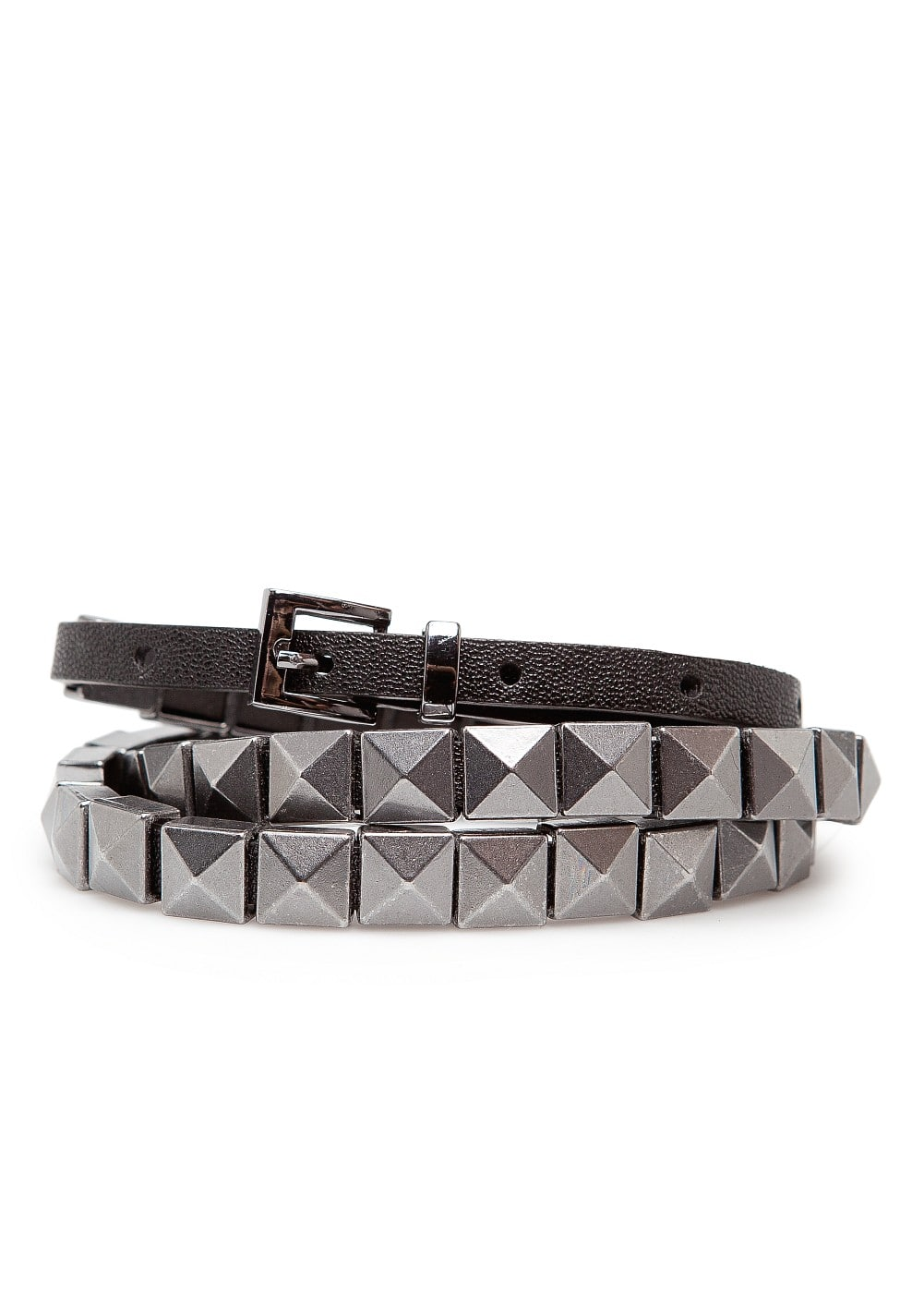 Studs slim belt | MANGO