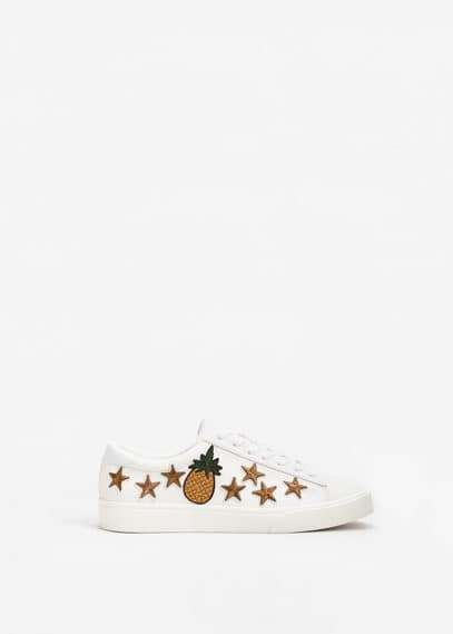 Patches sneakers