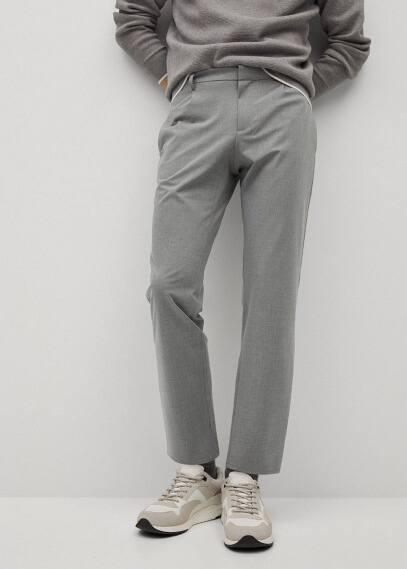 Мужские брюки Mango (Манго) 87004018: изображение 2