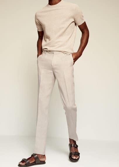 Мужские брюки Mango (Манго) 87005562