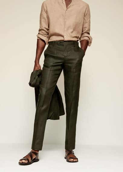 Мужские брюки Mango (Манго) 87005567