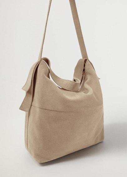Кожаная сумка-торба - Prima