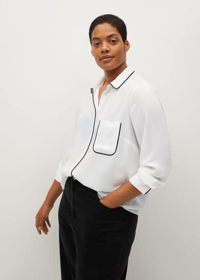 Рубашка Mango (Манго) 87012502