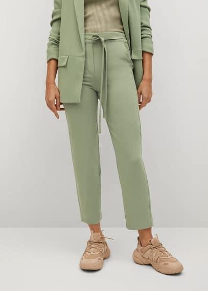 Женские брюки Mango (Манго) 87012885