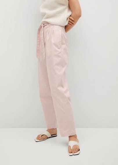 Женские брюки Mango (Манго) 87015649